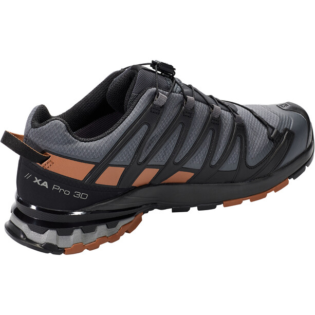 Salomon XA Pro 3D v8 GTX Shoes Wide Men, harmaa/ruskea