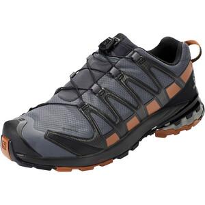 Salomon XA Pro 3D v8 GTX Shoes Wide Men, harmaa/ruskea harmaa/ruskea