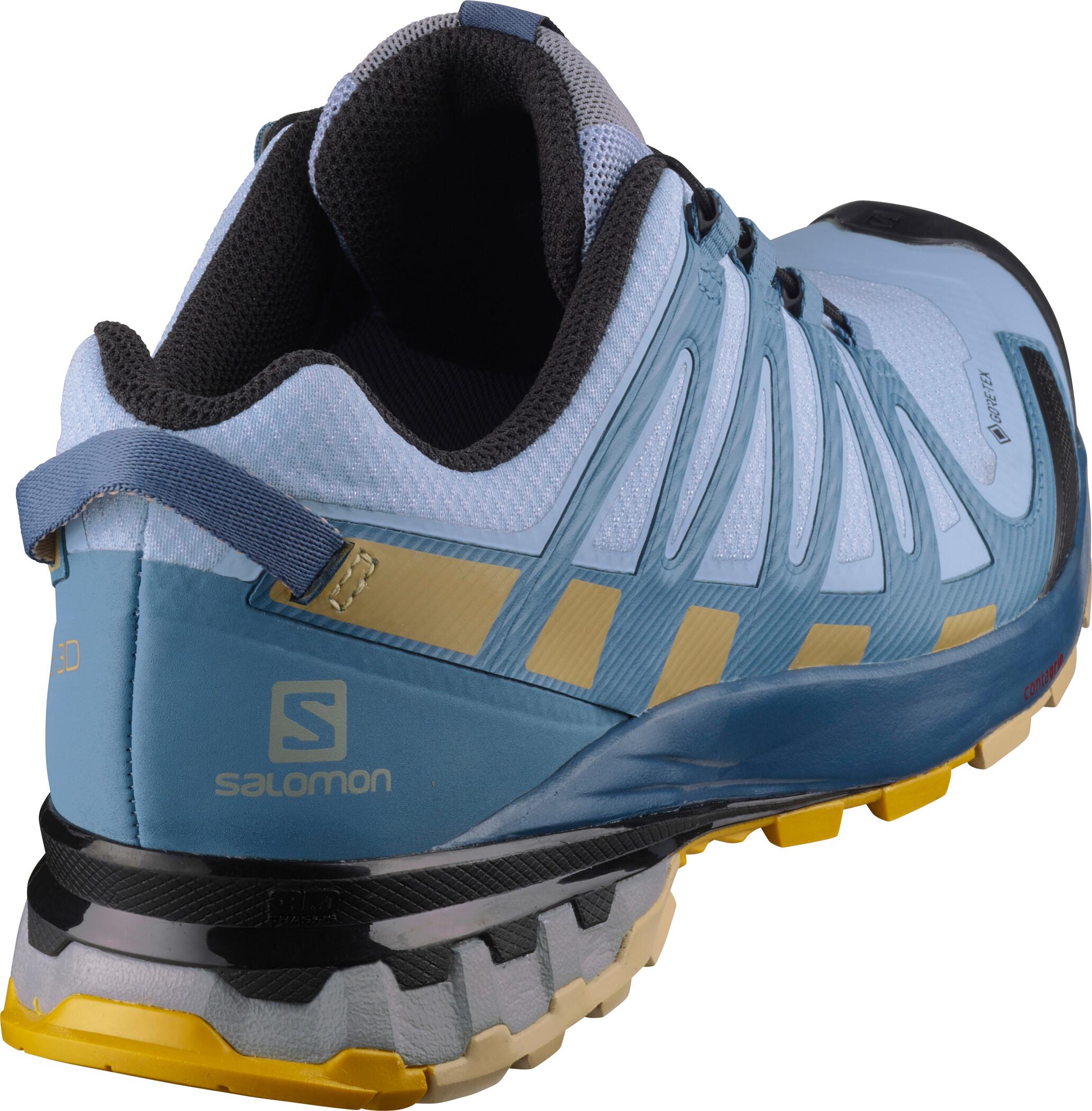 Salomon XA Pro 3D v8 GTX Schuhe Damen kentucky bluedark denimpale khaki