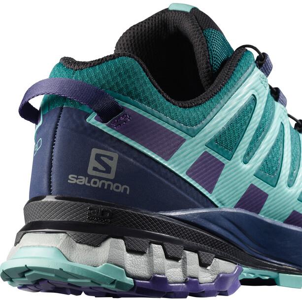 Salomon XA Pro 3D v8 GTX Shoes Women, vihreä/violetti
