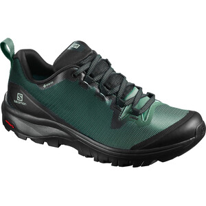 Salomon Vaya GTX Schuhe Damen black/balsam green/black black/balsam green/black