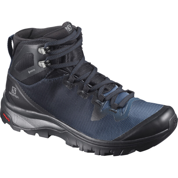 Salomon Vaya Mid GTX Schuhe Damen black/sargasso sea/black