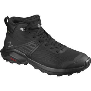 Salomon X Raise Mid GTX Schuhe Herren schwarz schwarz