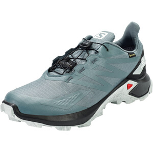 Salomon Supercross Blast GTX Shoes Men stormy weather/black/quarry stormy weather/black/quarry