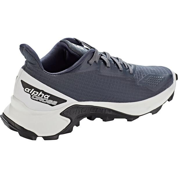 Salomon Alphacross Blast Schuhe Damen grau/weiß