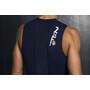 Fe226 DuraForce Débardeur de triathlon Build Homme, bleu/noir