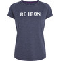 Fe226 Be Iron DryRun T-Shirt Prep Damen tempest blue