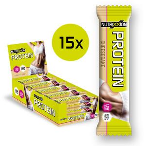 Nutrixxion Protein Bar Box 15 x 35g / MHD 30.09.2021, Cheesecake