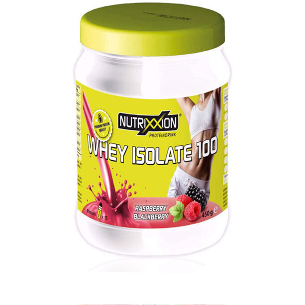 Nutrixxion Whey Isolate 100 Drink 450g Brombeere/Himbeere