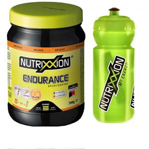 Nutrixxion Spécial Endurance 700g avec bouteille (600ml), Orange