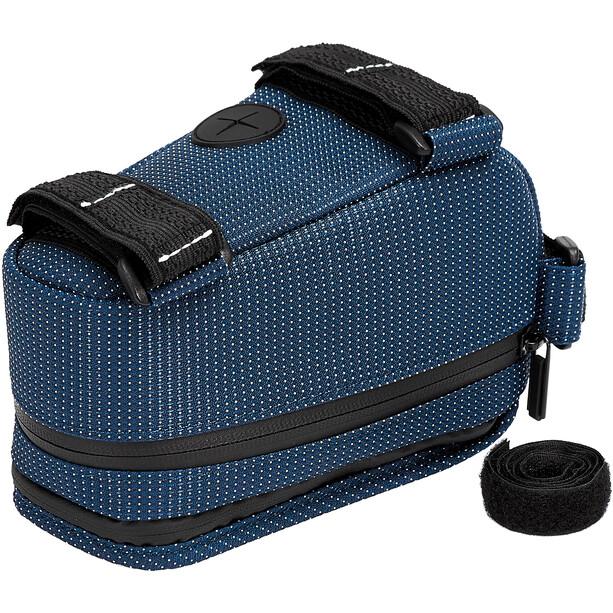 NC-17 Connect Smartphone Oberrohrtasche blau