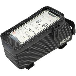 NC-17 Connect Seitenlader Smartphone Oberrohrtasche XL black black