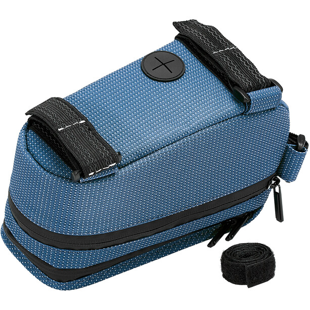 NC-17 Connect Seitenlader Smartphone Oberrohrtasche XL blau