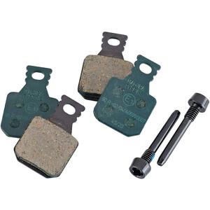 Magura 8.S Sport Scheibenbremsbeläge für 4-Kolben MT inkl. 2 Befestigungsschrauben grün grün