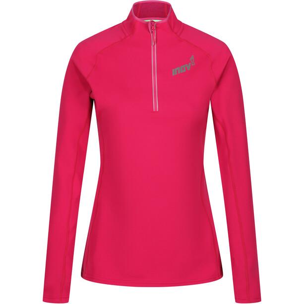 inov-8 Technical Mid Half Zip Mid Layer Damen pink