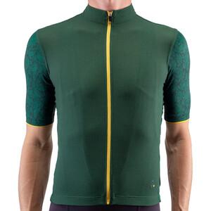 Isadore Climbers Angliru 2.0 Trikot Kurzarm Herren green/yellow green/yellow