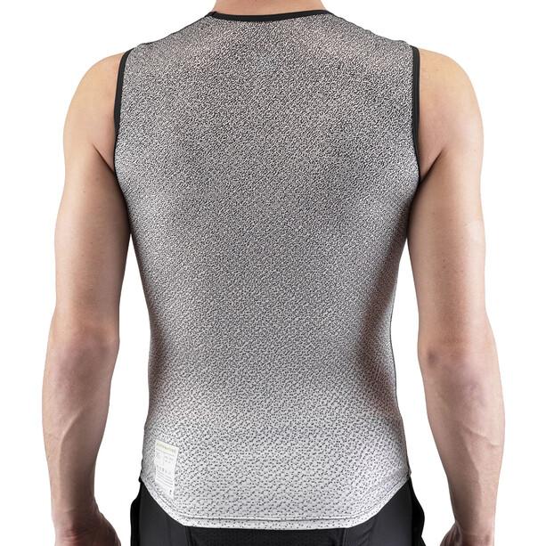 Isadore Alternative Sous-maillot sans manches Homme, blanc