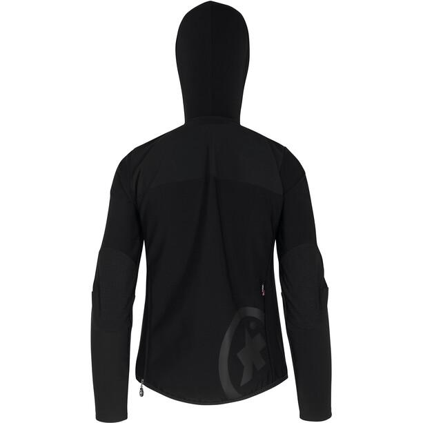 ASSOS Trail Winter Softshell Jacke Damen blackseries