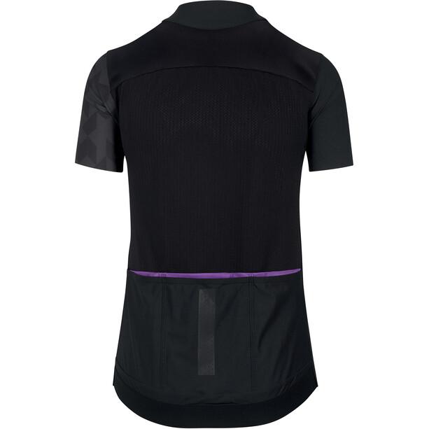 ASSOS Dyora RS Sommer Kurzarm Trikot Damen blackseries