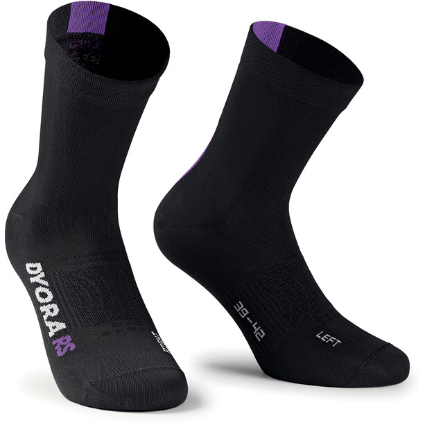 assos Dyora RS Socken Damen blackseries