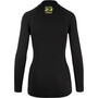 ASSOS Frühling/Herbst Langarm Skin Layer Damen blackseries