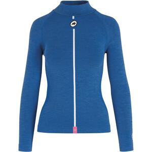 ASSOS Ultraz Winter Langarm Skin Layer Damen blau blau