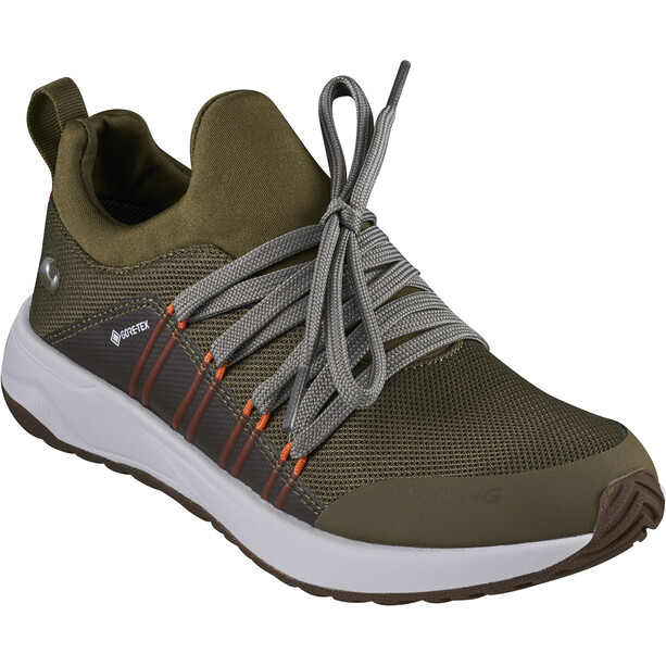 Viking Footwear Engenes GTX Shoes Kids khaki/orange