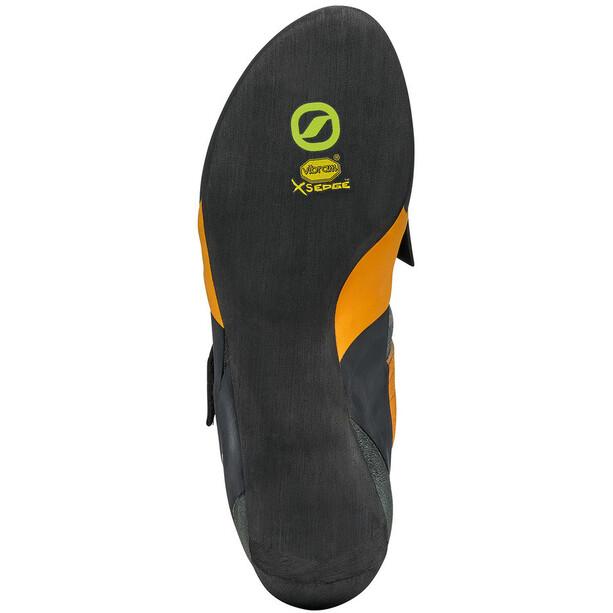 Scarpa Force V Climbing Shoes mangrove/papaya