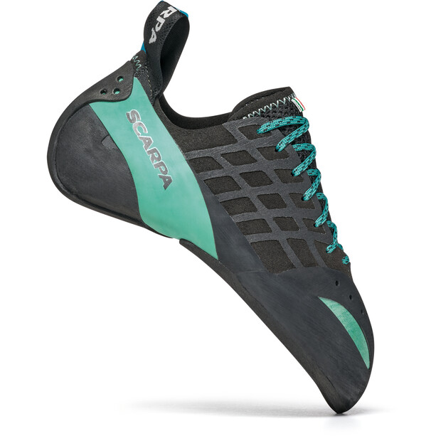 Scarpa Instinct Climbing Shoes Women black/aqua