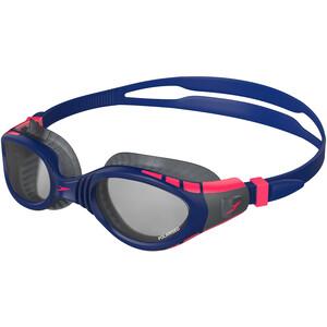 speedo Futura Biofuse Flexiseal Tri Goggles navy/phoenix red/charcoal navy/phoenix red/charcoal