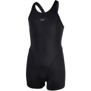 speedo Essential Endurance+ Legsuit Girls black/oxid grey black/oxid grey