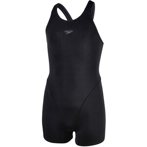speedo Essential Endurance+ Legsuit Mädchen black/oxid grey black/oxid grey