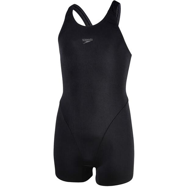 speedo Essential Endurance+ Combinaison courte Fille, black/oxid grey