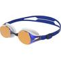 speedo Hydropure Mirror Goggles white/gold/blue