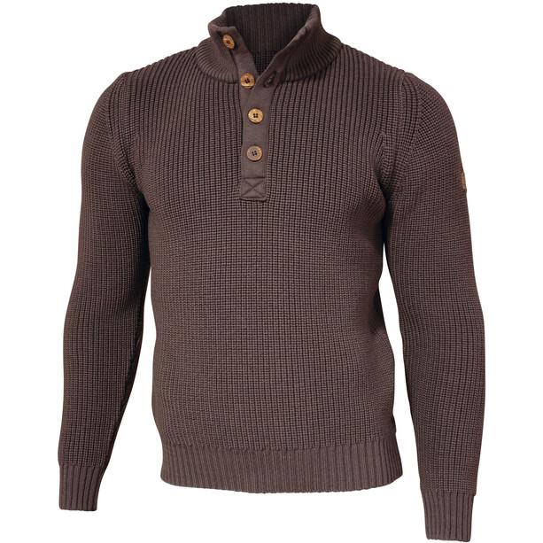 Ivanhoe of Sweden GOTS Oak Sweater Herren dark khaki