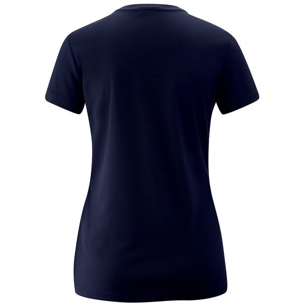 Maier Sports Trudy T-Shirt Damen blau