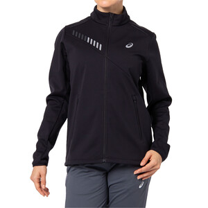 asics Lite-Show Winterjacke Damen performance black/graphite grey performance black/graphite grey