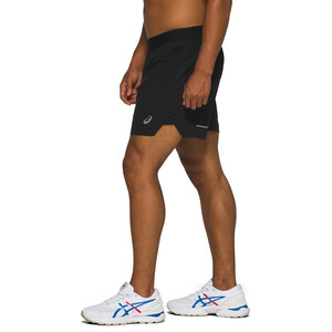 "asics Road 7"" Shorts Herren performance black performance black"