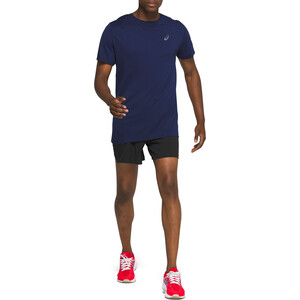 "asics Road 5"" Shorts Men svart svart"