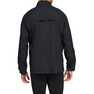 asics Icon Jacket Men performance black/carrier grey performance black/carrier grey