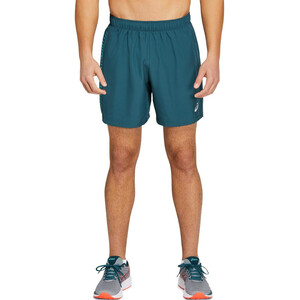 "asics Icon 7"" Shorts Herren magnetic blue/techno cyan magnetic blue/techno cyan"