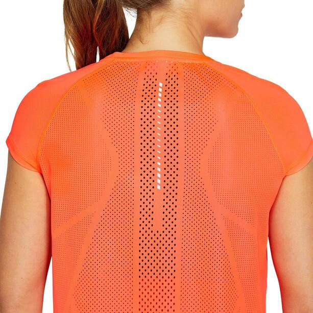 asics Future Tokyo Ventilate Kurzarm Oberteil Damen orange
