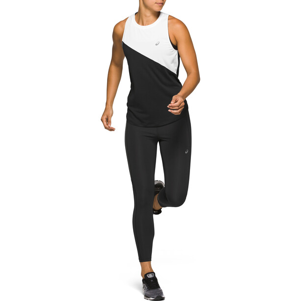 asics Tokyo Highwaist Tights Damen performance black/graphite grey