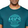 asics Tokyo Graphic Japan T-Shirt Herren magnetic blue
