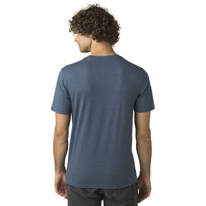 Prana Bear Squeeze Journeyman Kurzarm T-Shirt Herren denim heather denim heather