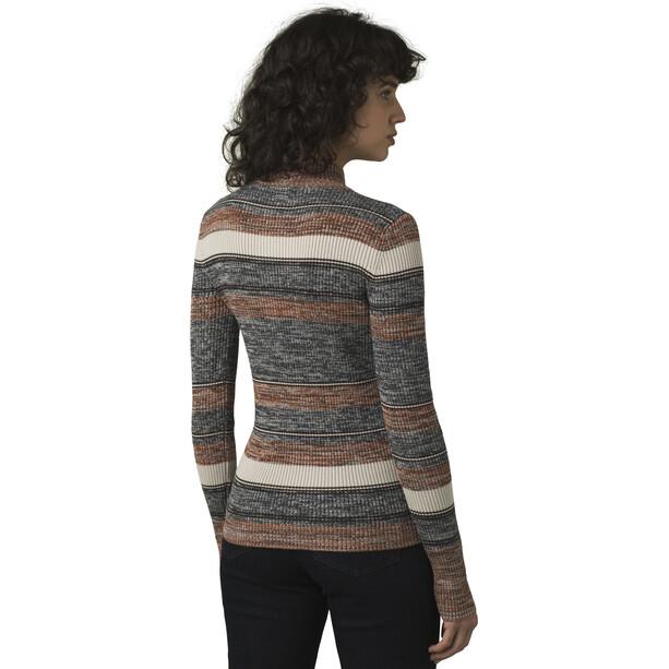 Prana Acadia Sweater Damen grau/braun