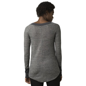 Prana Sheeba Langarm Oberteil Damen heather grey heather grey