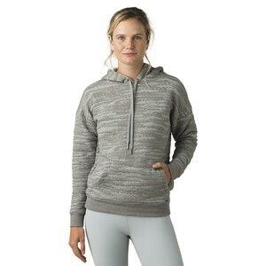 Prana Carin Hoodie Damen heather grey heather grey