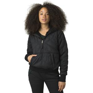 Prana Esla Half Zip Pullover Damen black black