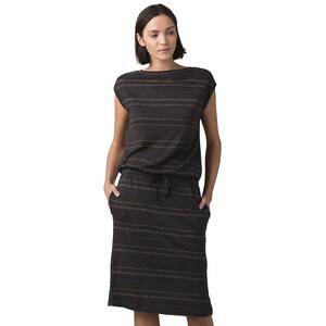Prana Caris Cozy Up Kleid Damen nocturnal heather stripe nocturnal heather stripe